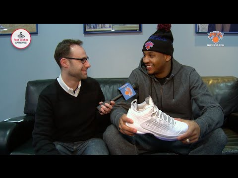 1-on-1 with Carmelo Anthony: Revealing New M11s, All-Star Memories, and Playing Host