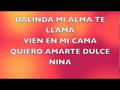 Alex Mica-dalinda Lyrics video