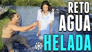 EL RETO DEL AGUA HELADA! ft. DebRyanShow | What The Chic