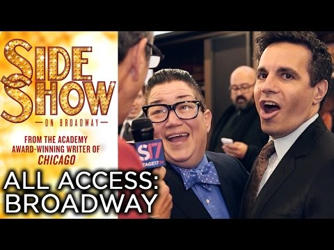 Bill Condon's SIDE SHOW | Red Carpet Highlights