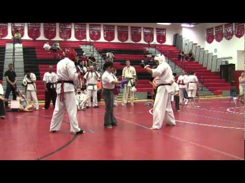 Jim Graffe 2011 Kyokushin Karate Tournament Hilton NY--- Yordan Petrov's fight Image 1