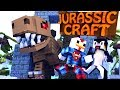 minecraft | juric craft - dinosaurs ep 1