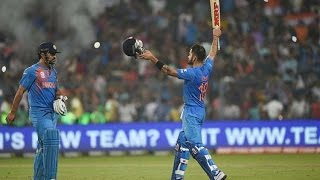 105*(52) Virat Kohli Match Saving Century IND VS SAF T20 Don Bradman Cricket 2014
