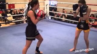 2  54 kg, K 1 3×2 min  Bianca Olsen BKK vs Emilia Olsson Real Fighter