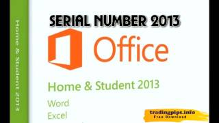 MS office 2013 serial key