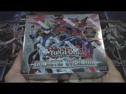 Yugioh Galactic Overlord Box Opening Texas Style