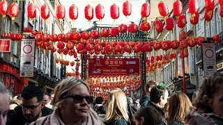 London hosts the largest Chinese New Year parade outside Asia