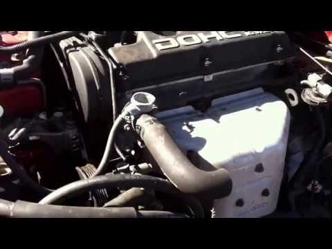 Mitsubishi Eclipse Timing Belt and Engine Removal