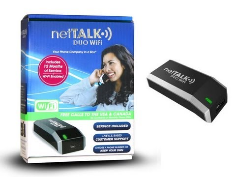 NetTalk Wifi Duo VOIP Device Review