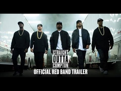 HD Straight Outta Compton Official Red Band Trailer # 1 (2015) @icecube @drdre