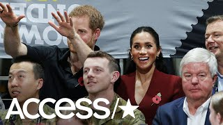 Prince Harry & Meghan Markle Excitedly Cheer From The Stands At The Invictus Games | Access