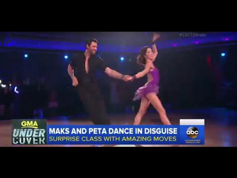 DWTS: Maks and Peta Prank Dance Class | GMA