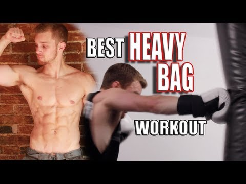 20 Minute Heavy Bag Workout Image 1