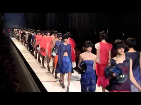 Fendi Women's Spring/Summer 2014 Fashion Show