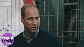 "Duke of Cambridge describes ""raw emotion"" of air ambulance work"