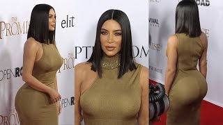 "Kim Kardashian ""The Promise"" Premiere Red Carpet"