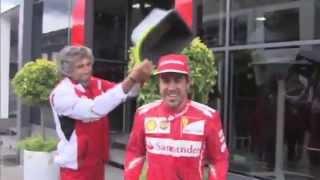Ice Bucket Challenge Fernando Alonso