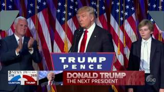 PART 2: Donald Trump elected President of the United States