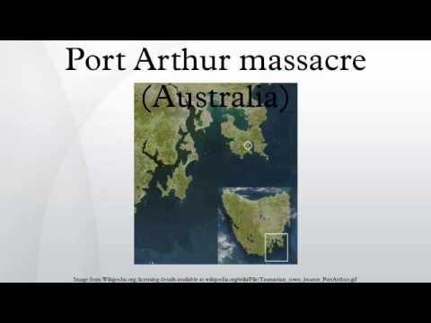 Port Arthur massacre (Australia)