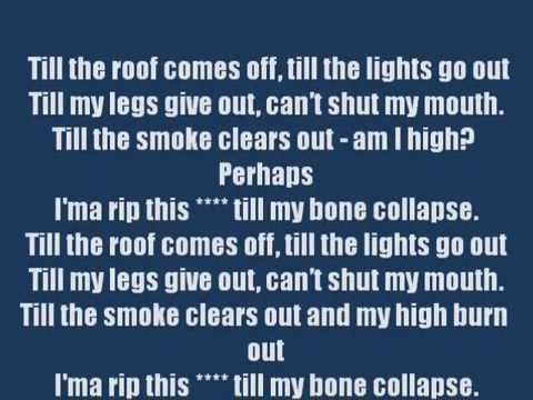 Till I Collapse Lyrics clean)