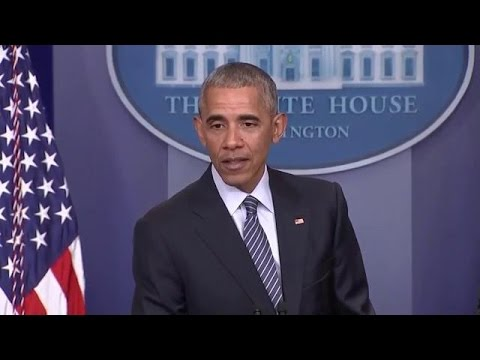 President Obama news conference on Trump transition and his legacy