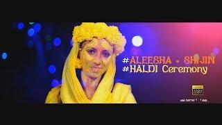 kerala muslim wedding # haldi ceremony #aleesha + shijin #mango media