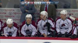Avalanche stunned as Jets score twice in 16 seconds