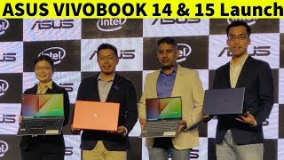 ASUS Unveils VivoBook Series 14 and 15 with Frameless NanoEdge Display | Price, Full Specs