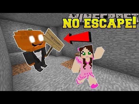 Minecraft: THIS MAZE HAS NO ESCAPE!! - Halloween Maze - Custom Map
