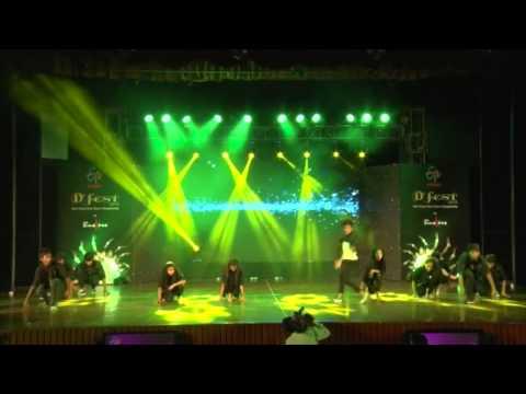 D.A.V. Public School -- Westen free style group dance category