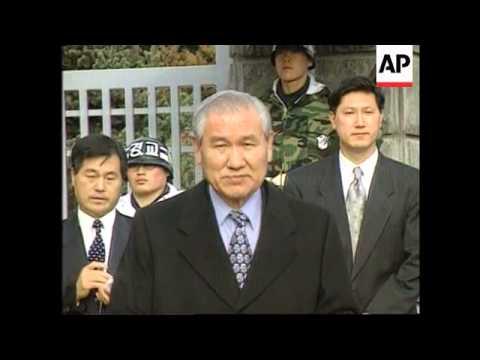 South Korea - Release of former presidents