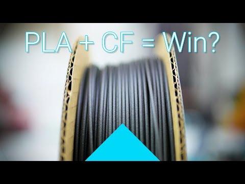 Proto-pasta's high-temperature carbon fiber PLA review! #Filaween
