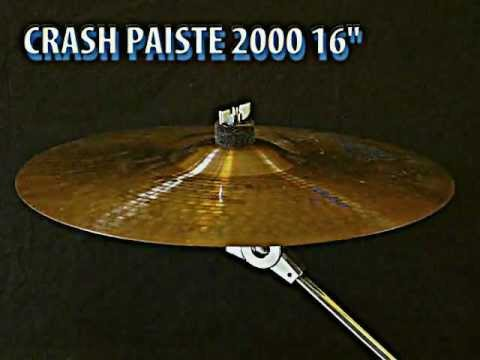 "Paiste 2000 crash 16"" cymbal"