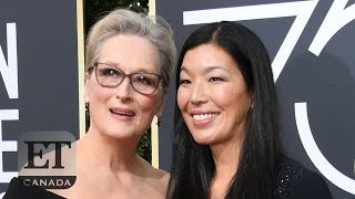 Actresses Bring Activists As Their Dates | GOLDEN GLOBES