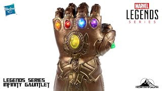 Optibotimus Reviews: Marvel Legends INFINITY GAUNTLET Prop Replica