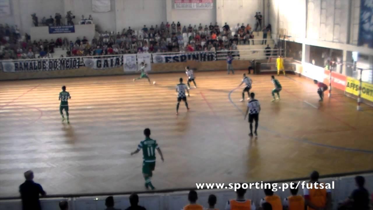 Futsal :: 04J :: Boavista - 1 x Sporting - 3 de 2014/2015