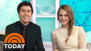 Cara Delevingne, Nat Wolff Share Goofy Antics On 'Paper Towns' Set | TODAY