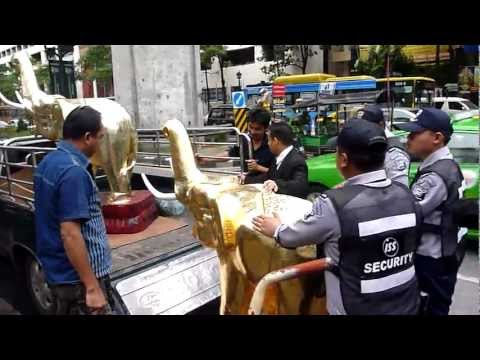 TRAVEL CHANNEL | Elephant Transport at Bangkok Temple | Asia Adventure Tours