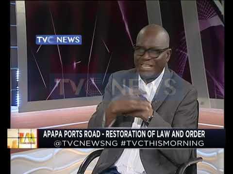 Apapa ports road - Restoration of law and order