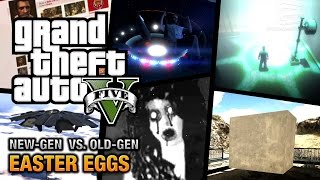 GTA 5 Easter Eggs - New Gen vs Old Gen