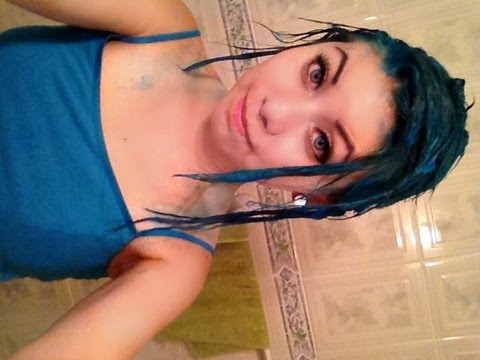 Bleaching/Dying My Hair Turquoise