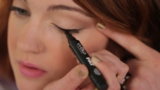 How To: Apply Liquid Eyeliner for Beginners