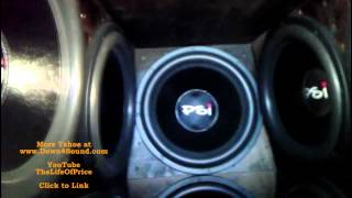 "Holy Poo!, 10 18"" Woofer test in JP"