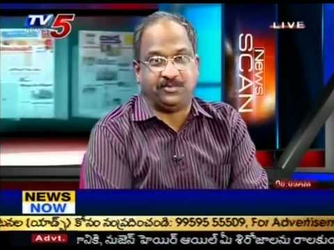 Special Debate On 'CM Comments On Jagan'(TV5)-Part01