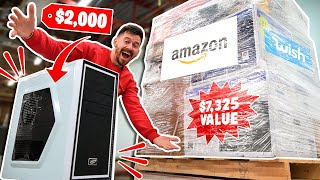 I Paid $680 for $7,325 Worth of MYSTERY TECH!! Amazon Returns Pallet Unboxing! ($2,000 PC)