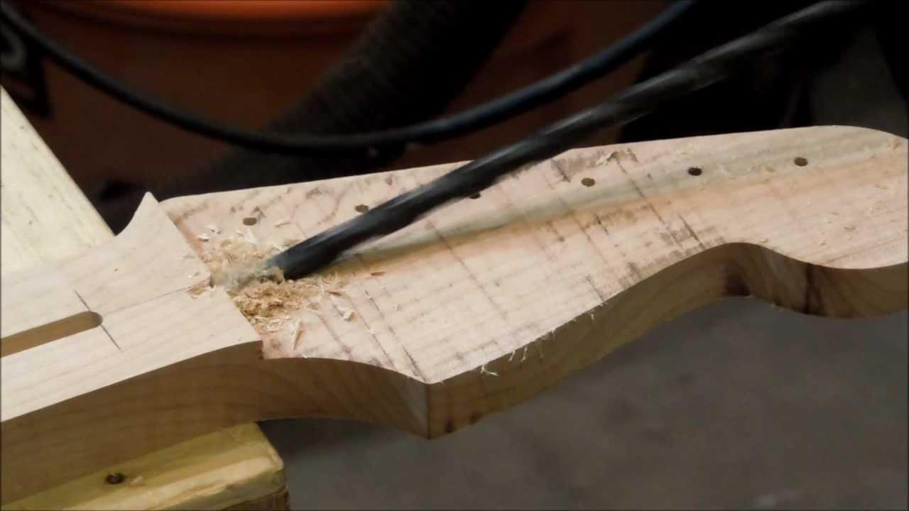 Bbg v003 fabrication d 39 une guitare lectrique d but du - Fabriquer une guirlande electrique ...