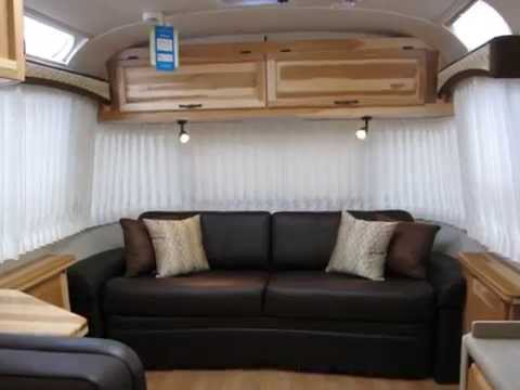 2013 Airstream Classic Limited 30W Espresso Ultraleather Luxury Travel Trailer For Camping