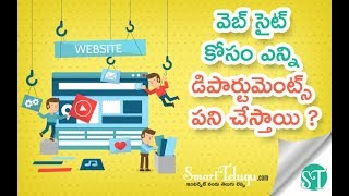 Learn Website Development Process in Telugu | Software Application Development | Smart Telugu