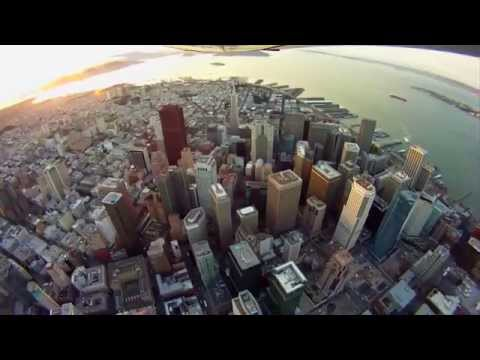 San Francisco Fly Over With GoPro Hero2 HD
