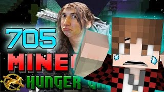 Minecraft: EPIC FAIL FUNNY START! Hunger Games w/Bajan Canadian! Game 705